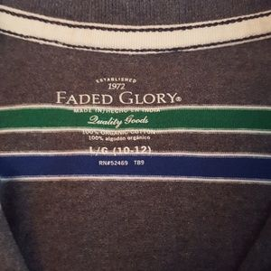 Faded Glory Shirts & Tops - Handsome long-sleeved pullover shirt